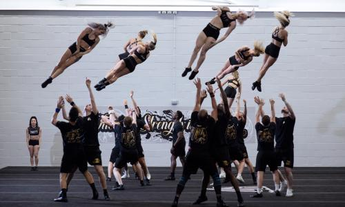 'It's a hard and challenging sport': inside the world of competitive cheerleading