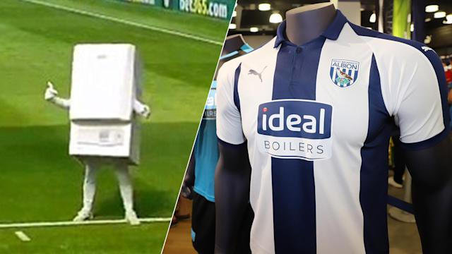 West Brom's new sponsor have really made their presence felt on matchdays.