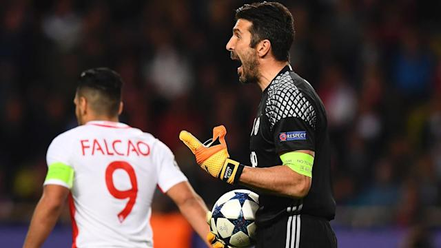 Gigi Buffon Monaco Juve Champions League