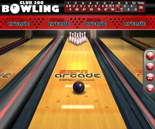 club 300 bowling game of the day