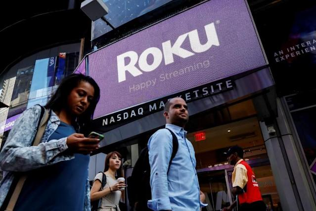 Roku posted better-than-expected Q1 2018 earnings, driven platform sales. by Source: REUTERS/Brendan McDermid