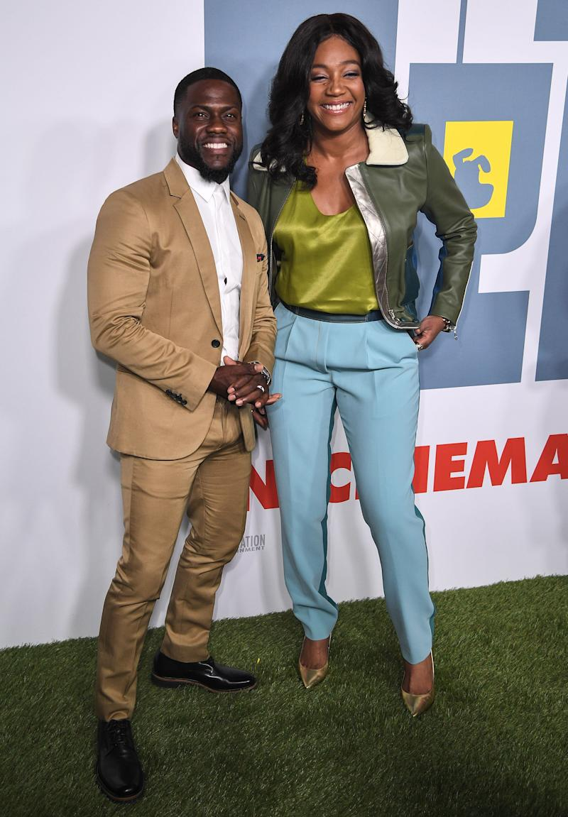 SYDNEY, AUSTRALIA - JUNE 06: Kevin Hart and Tiffany Haddish attend the Australian premiere of 'The Secret Life of Pets 2' during the Sydney Film Festival on June 06, 2019 in Sydney, Australia. (Photo by James Gourley/Getty Images)