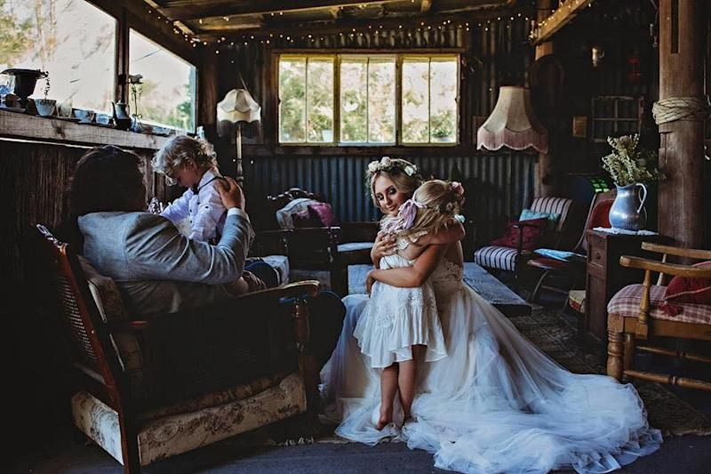 It came just one year after Mikaila was diagnosed with Stage 4 cancer. Photo: Beth Fernley Photography