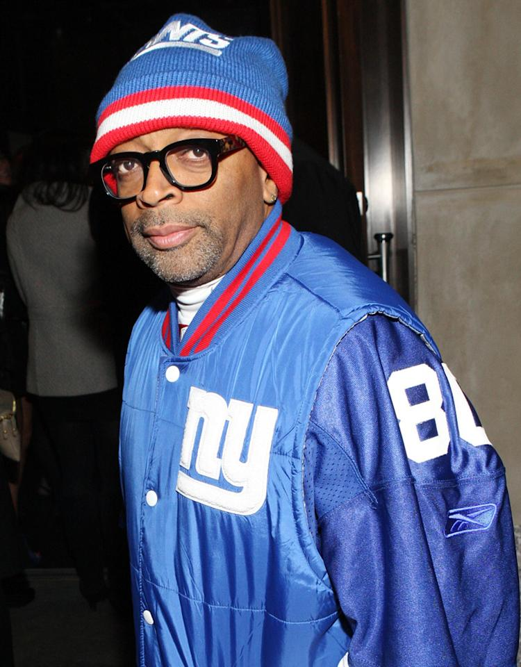 NEW YORK, NY - JANUARY 18: Director Spike Lee attends the grand re-opening of Jay-Z's 40/40 Club on January 18, 2012 in New York City.  (Photo by Bennett Raglin/WireImage)