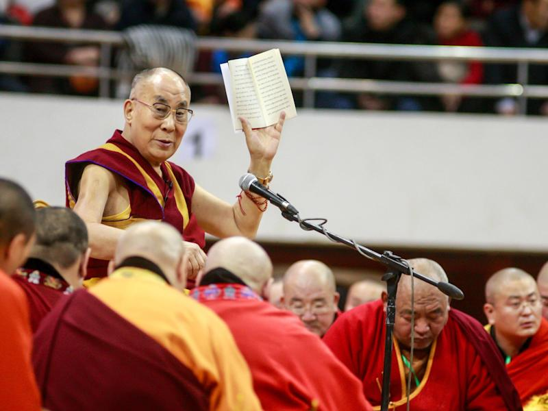 Tibetan spiritual leader the Dalai Lama: Getty