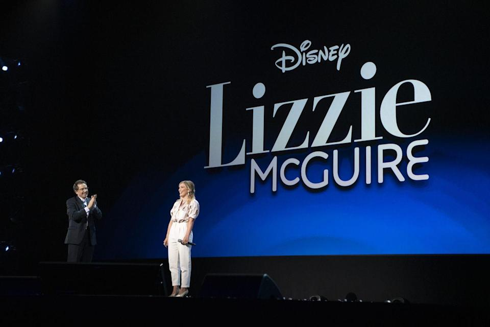 """Hilary Duff Is """"Optimistic"""" That the 'Lizzie McGuire' Reboot Will Happen"""