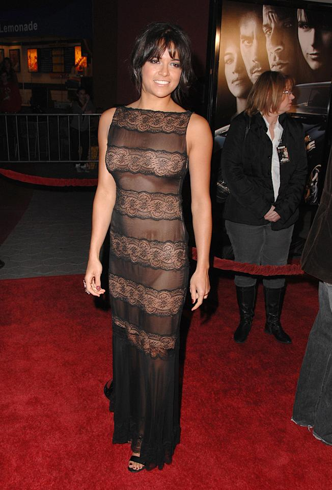 "<a href=""http://movies.yahoo.com/movie/contributor/1800354386"">Michelle Rodriguez</a> at the Los Angeles premiere of <a href=""http://movies.yahoo.com/movie/1809989992/info"">Fast & Furious</a> - 03/12/2009"