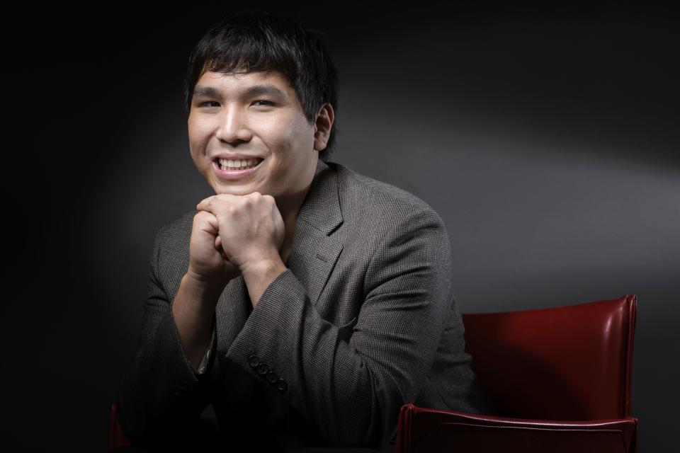 Filipino chess Grandmaster of the United States and 10th highest ranking player in the world Wesley So poses on June 8, 2016 in Paris.  The first leg of the 2016 Grand Chess Tour is set to take place from June 9 to 12 at La Maison de la Chimie in Paris. / AFP PHOTO / JOEL SAGET        (Photo credit should read JOEL SAGET/AFP via Getty Images)