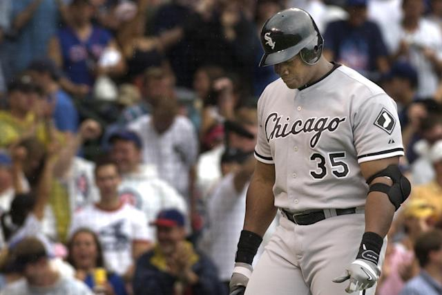 Was the Big Hurt the most hurt player in the steroids era? (AP Photo)