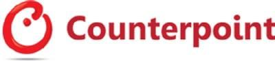 Counterpoint Research Logo (PRNewsfoto/Counterpoint Research)