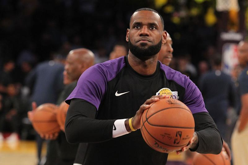 Skip Bayless calls LeBron James 'delusional' over GOAT talk