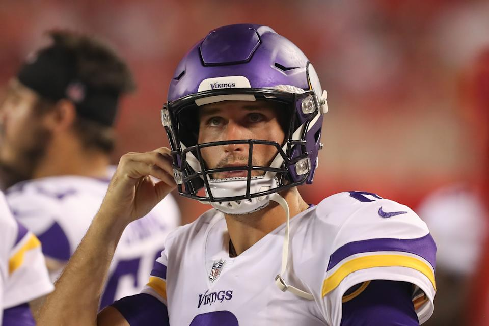 Kirk Cousins with the Vikings.