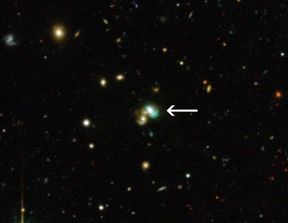 New 'Green Bean' Galaxies Glow In the Dark