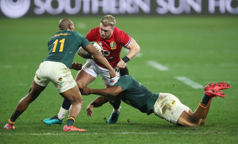 Second Test - South Africa v British and Irish Lions