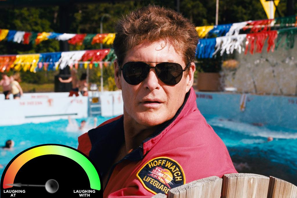 "<b>David Hasselhoff </b><br>""<a href=""http://movies.yahoo.com/movie/piranha-3dd/v"">Piranha 3DD</a>"" (2012)<br>Even though The Hoff's tongue is planted firmly in his cheek for this film, and he's definitely laughing at himself, the fact remains: The Hoff is just joining me while I'm laughing at him. However, I'm 100% thankful to him for making me laugh so Hoffing hard."