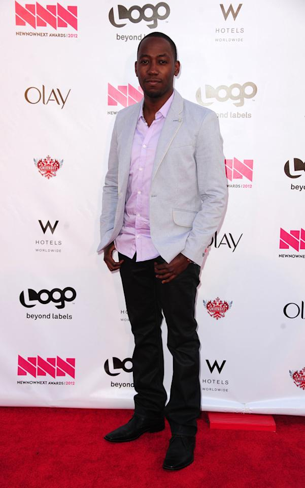 Lamorne Morris arrives at LOGO's NewNowNext Awards at Avalon on April 5, 2012 in Hollywood, California.