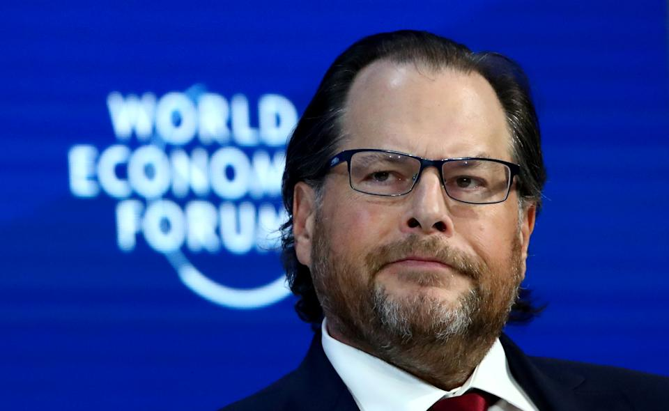 Chairman and Co-CEO of Salesforce Marc Benioff