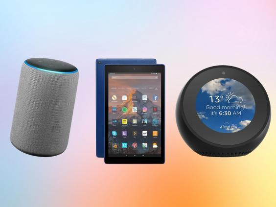 Expect deals on Amazon's Fire tablets, Kindle ebook readers and Echo smart speakers (The Independent/iStock)