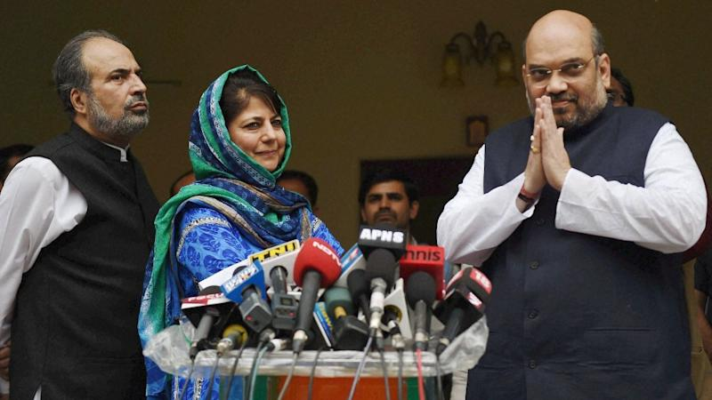 PDP-BJP Meet on Kashmir Situation Before Amit Shah's Jammu Visit