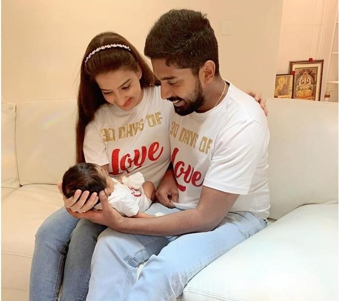 <em>Saath Nibhaana Saathiya </em>fame Lovey Kaur got hitched to boyfriend Koushik Krishnamurthy last year, and the TV couple were promoted to parenthood this February. The new mommy-daddy are on cloud nine with little munchkin Royce brightening up their days.