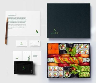 """""""Omakase"""" combo housed in exquisite, compostable packaging (CNW Group/Greenfish)"""