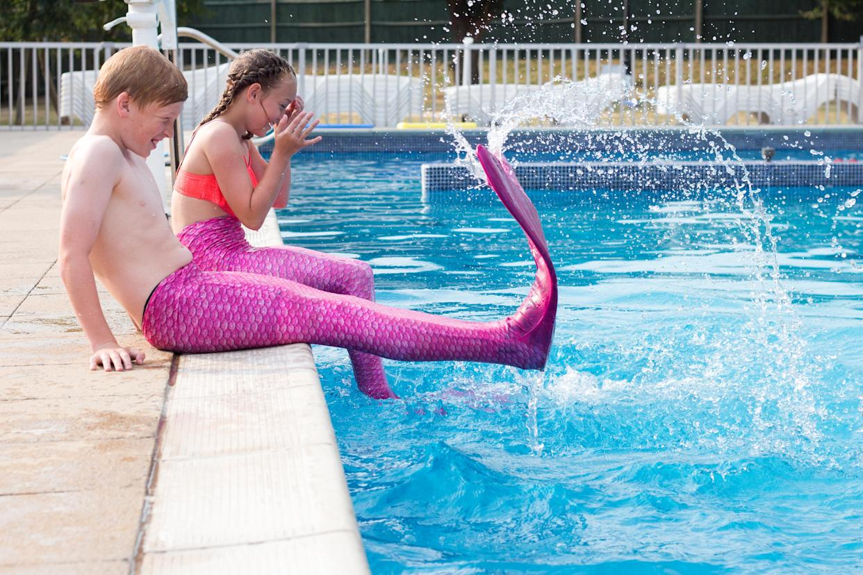 Mermaid tails put the magic into swimming (Supplied, South Coast Mermaids)