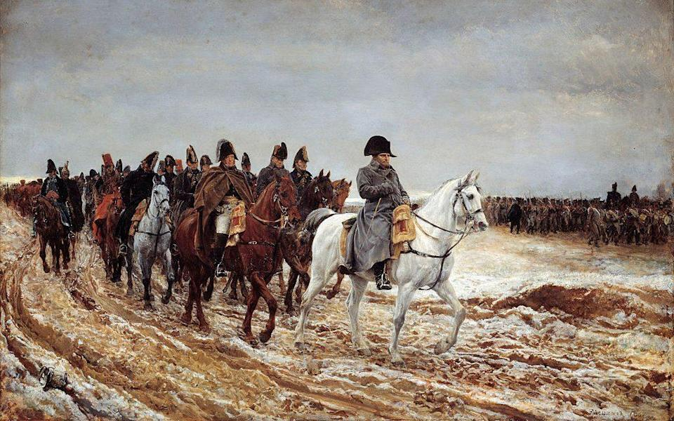 One story has it that the lighter, long baguette was devised for easier carrying by Napoleonic troops - Getty