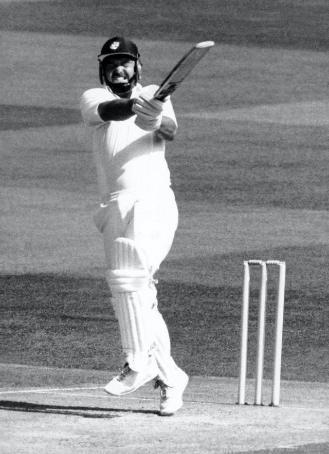 Mike Gatting retired six short of his 100th.