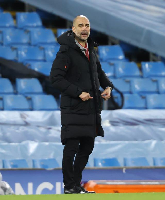 Guardiola is preparing his side to face Fulham this weekend