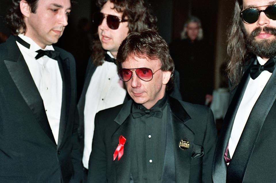 Phil Spector during 8th Annual Rock and Roll Hall of Fame Induction Ceremony, 1993 at Century Plaza Hotel in Century City, CA, United States. (Photo by Jeff Kravitz/FilmMagic, Inc)