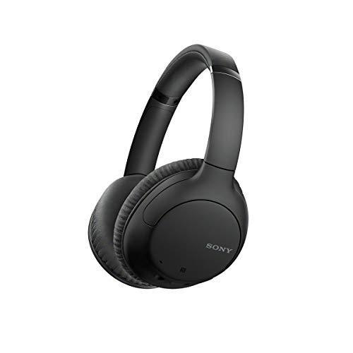 Sony Noise Cancelling Headphones WHCH710N: Wireless Bluetooth Over the Ear Headset with Mic for…