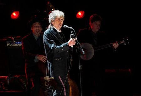 FILE PHOTO --  Bob Dylan performs during a segment honoring Director Martin Scorsese at the 17th Annual Critics' Choice Movie Awards in Los Angeles
