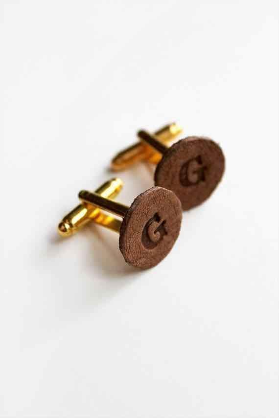 """<p>As more small gatherings finally begin to take place, make sure dad is ready to put his best foot forward with a set of sophisticated leather cufflinks. </p><p><a href=""""https://almostmakesperfect.com/2014/06/11/diy-monogrammed-leather-cufflinks/"""" rel=""""nofollow noopener"""" target=""""_blank"""" data-ylk=""""slk:Get the tutorial."""" class=""""link rapid-noclick-resp"""">Get the tutorial.</a></p><p><a class=""""link rapid-noclick-resp"""" href=""""https://www.amazon.com/Bourbon-Finished-Workshop-Crafting-Accessories/dp/B07NZ45J2G?tag=syn-yahoo-20&ascsubtag=%5Bartid%7C10072.g.27603456%5Bsrc%7Cyahoo-us"""" rel=""""nofollow noopener"""" target=""""_blank"""" data-ylk=""""slk:SHOP LEATHER"""">SHOP LEATHER</a></p>"""