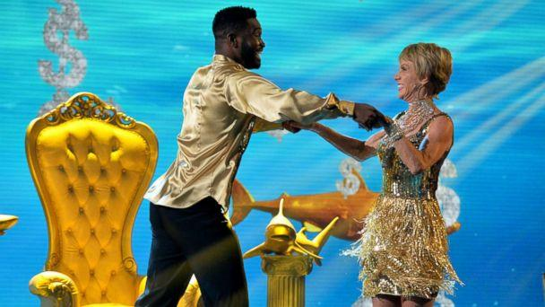 PHOTO: Barbara Corcoran competes for the Mirror Ball with pro dancer Keo Motsepe on 'Dancing With The Stars.' (Eric McCandless/ABC)