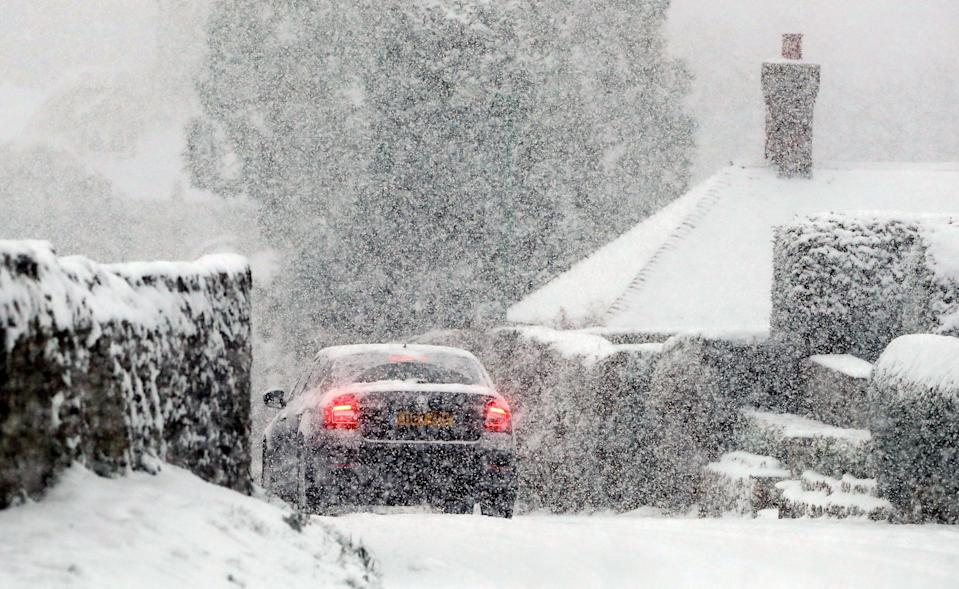 <p>Lincolnshire Police tweeted that they were already dealing with five collisions by 6.30am on Tuesday morning and said roads were 'particularly hazardous'. (PA) </p>