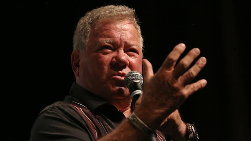 William Shatner, of Star Trek fame, ripped into the Lethbridge Police Service for their handling of an incident Monday. (Gabe Ginsberg/Getty Images)