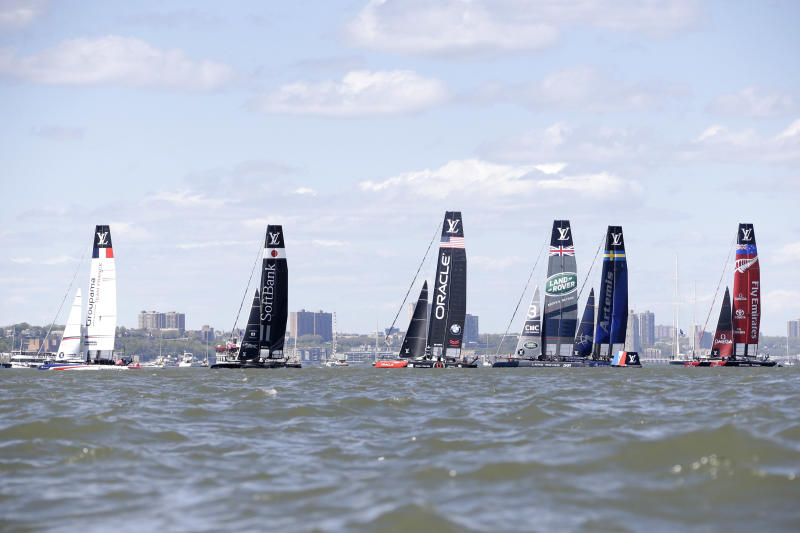 Sailing America Cup New York