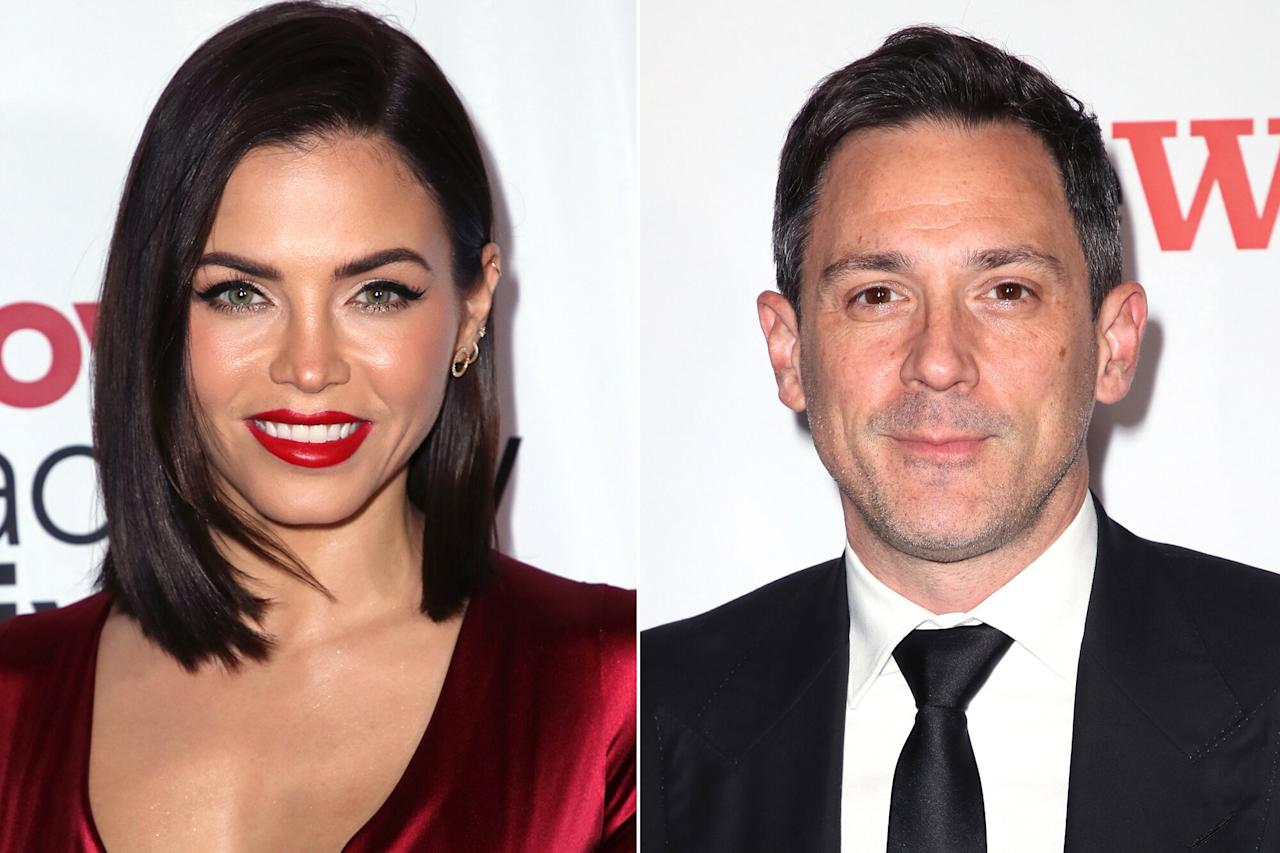 """Nearly one month later, PEOPLE confirmed that Dewan was dating Broadway star Steve Kazee, with sources saying that the pair had """"been dating for a couple [of] months and [Dewan is] really happy.""""  The pair were <a href=""""https://www.instagram.com/p/BpjHdX3nPFn/"""">photographed looking cozy</a> while celebrating Halloween with friends."""
