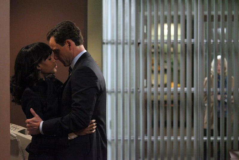 """Scandal"" -- ""Nobody Likes Babies"" KERRY WASHINGTON, TONY GOLDWYN"