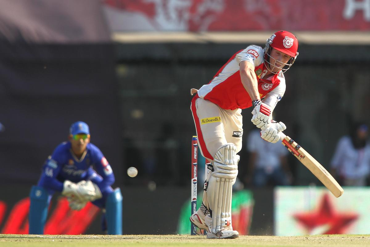 Shaun Marsh of Kings XI Punjab plays a delivery through the leg side during match 55 of of the Pepsi Indian Premier League between The Kings XI Punjab and the Rajasthan Royals held at the PCA Stadium, Mohali, India on the 9th May 2013..Photo by Shaun Roy-IPL-SPORTZPICS  ..Use of this image is subject to the terms and conditions as outlined by the BCCI. These terms can be found by following this link:..https://ec.yimg.com/ec?url=http%3a%2f%2fwww.sportzpics.co.za%2fimage%2fI0000SoRagM2cIEc&t=1490507760&sig=ndYnyTI_2XhN7yv6c6TZmQ--~C