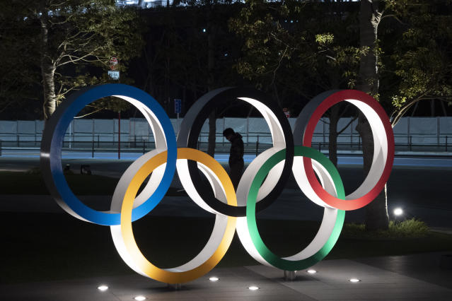 The Tokyo Olympics have been postponed to 2021 – at a massive cost to organizers. (AP Photo/Jae C. Hong)