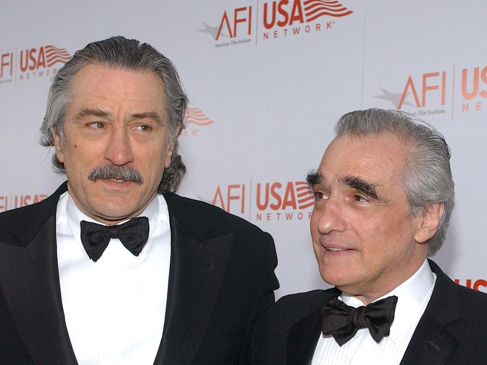 It was Robert De Niro that helped pull Martin Scorsese out of a rough spellGetty Images
