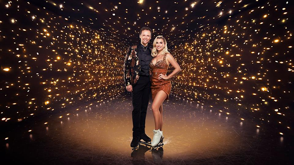 Billie Shepherd. Dancing On Ice (ITV)