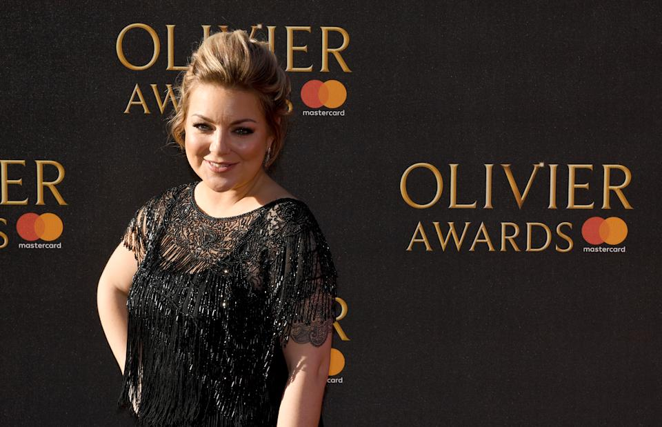 Sheridan Smith attending the Olivier Awards 2017, held at the Royal Albert Hall in London. (Photo by Chris J Ratclife/PA Images via Getty Images)