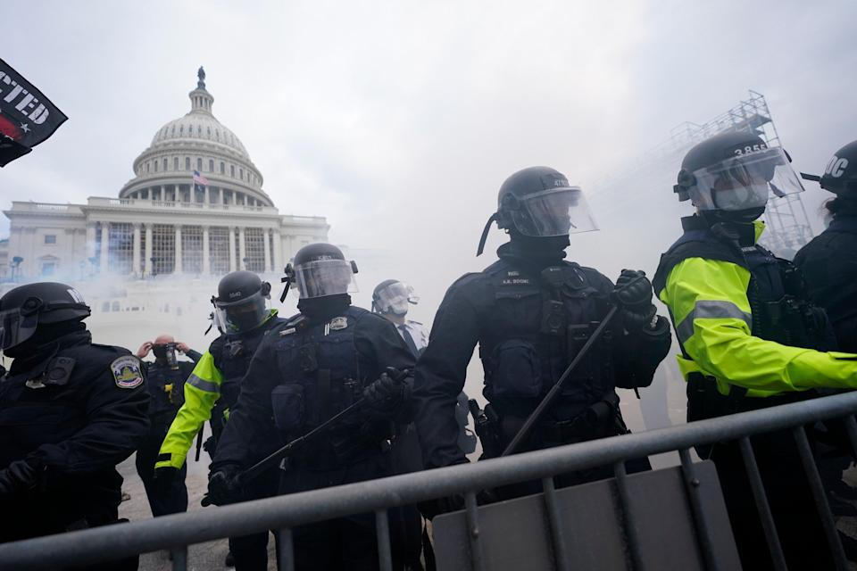 Capitol Breach Minority Concerns (Copyright 2021 The Associated Press. All rights reserved.)