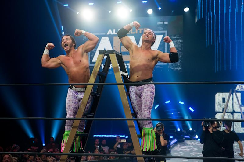 Image result for AEW Young Bucks