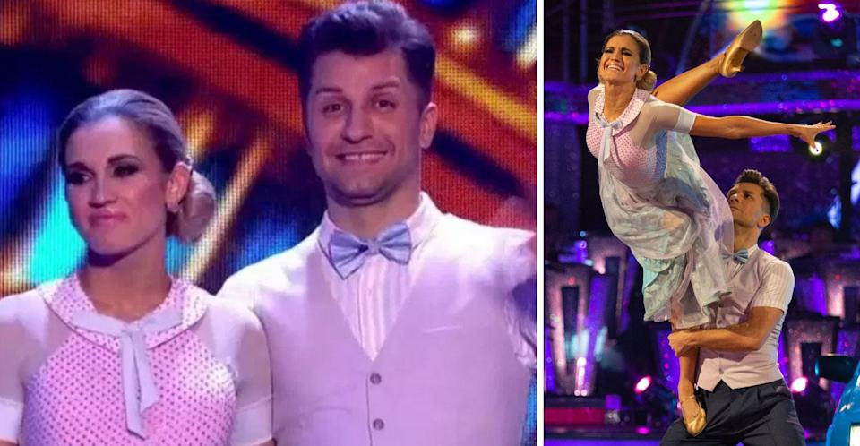 """<p>Former Pussycat Doll member Ashley Roberts consistently scored phonemonal scores on <em>Strictly Come Dancing </em>but she <a rel=""""nofollow"""" href=""""https://uk.news.yahoo.com/strictly-backlash-trained-dancers-begins-even-top-choreographer-isnt-happy-204730291.html"""" data-ylk=""""slk:suffered tremendous backlash from the public due to her past dancing background;outcm:mb_qualified_link;_E:mb_qualified_link;ct:story;"""" class=""""link rapid-noclick-resp yahoo-link"""">suffered tremendous backlash from the public due to her past dancing background</a>. Many viewers argued it was unfair for her to be on the show given her decades worth of professional dance training. She found herself in the bottom two three times in a row, but still maanged to make it to the final four. </p>"""