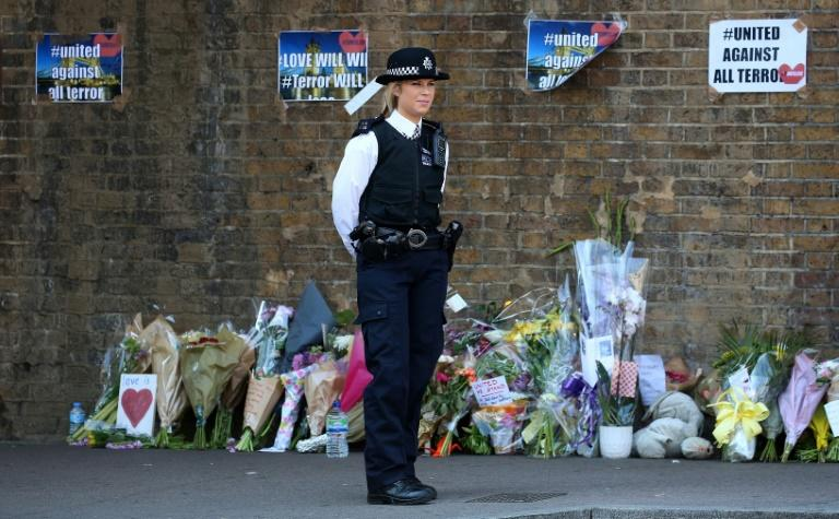 Ten people were injured and one man died at the scene when a white man drove a van into worshippers leaving a London mosque in the early hours of Monday