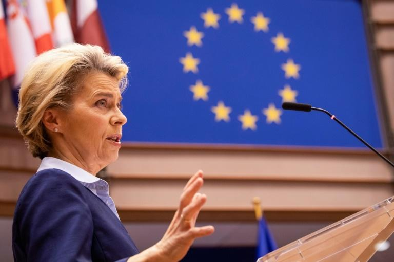 Von der Leyen said the EU's Michel Barnier and his UK counterpart David Frost had made progress towards resolving rules for state aid to businesses