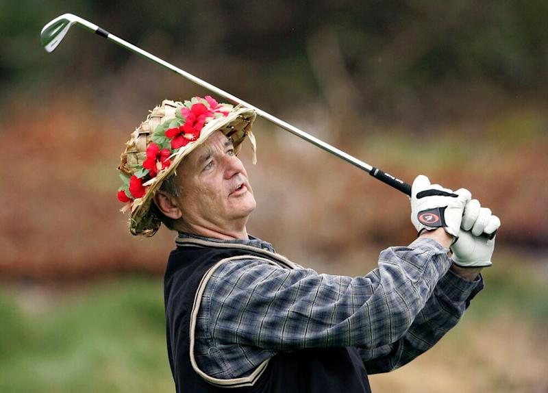 Bill Murray at the Pebble Beach Pro-Am in 2007 | Justin Sullivan/Getty